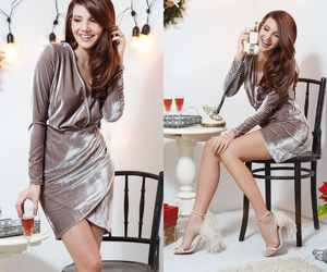 fashion blogger, NYE, and party look image