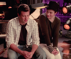 glee, kurt hummel, and finn hudson image