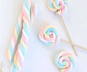 candy, marshmallow, and pastel image