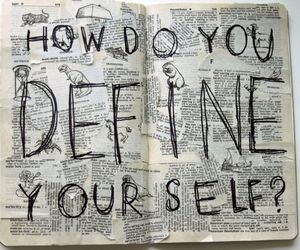 define, yourself, and how image