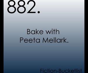 bucket list and peeta mellark image