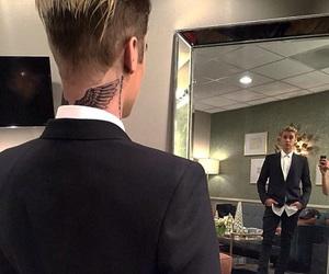 justin bieber, tattoo, and justin image