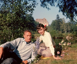 audrey hepburn, love in the afternoon, and audreyhepburn image