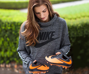 nike, alex morgan, and soccer image