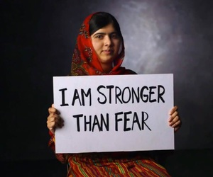 malala, feminist, and inspiration image
