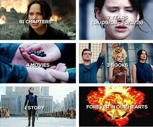 the hunger games, katniss everdeen, and mockingjay image