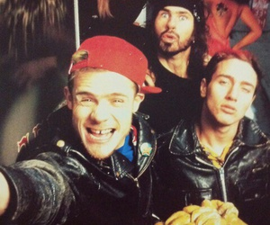 red hot chili peppers, anthony kiedis, and chad smith image