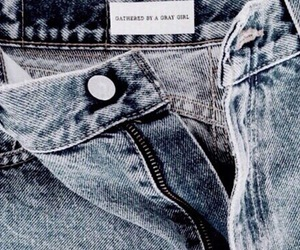 jeans, blue, and indie image