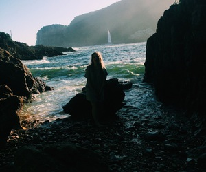 adventures, exploring, and girl image