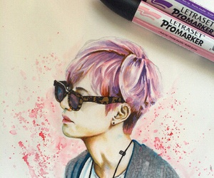 v, bts fanart, and bts image
