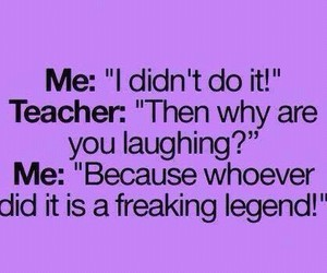 funny, legend, and teacher image