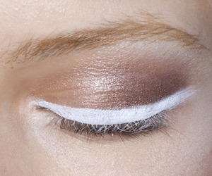 eyeliner, pale, and white image