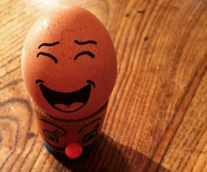 egg, funny, and eggs image