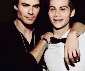 ian somerhalder, dylan o'brien, and teen wolf image