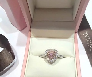luxury, ring, and diamond image