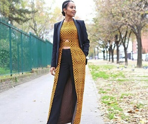 African, dress, and pagne image
