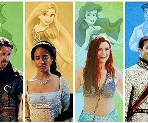 once upon a time, ariel, and robin hood image