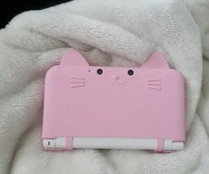 cat, nintendo, and pink image
