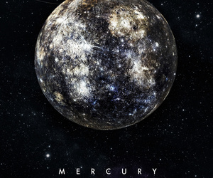 mercury, planet, and space image