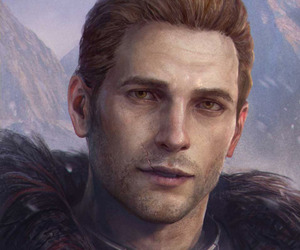 dragon age inquisition and cullen rutherford image