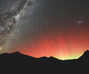 nature, beautiful, and galaxy image