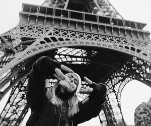 eiffel tower, paris, and kehlani image