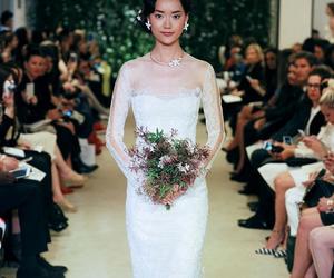 Carolina Herrera, dress, and marriage image