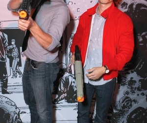 the walking dead, glenn, and norman reedus image