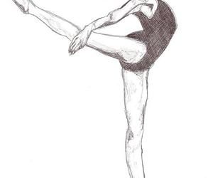 ballet, drawing, and cute image