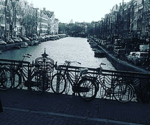 amsterdam, water, and fiets image
