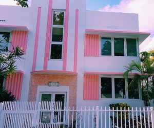 indie, Miami, and pink image
