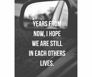 quote, years, and love image