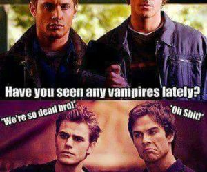 supernatural and tvd image