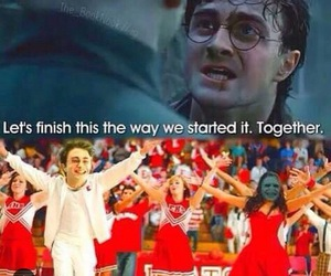 harry potter, voldemort, and high school musical image