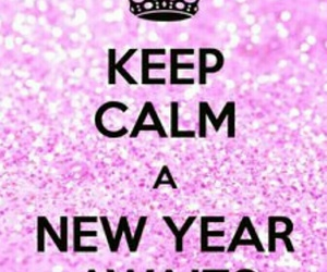 keep calm and new year image