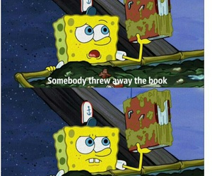 book and sponge bob image