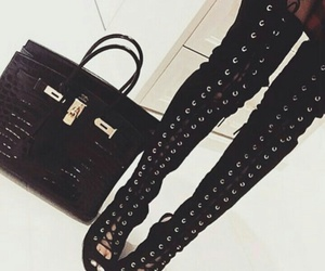 bag, high heels, and stylé image