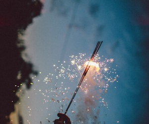 fireworks, tumblr, and happy image