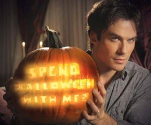 ian somerhalder, tvd, and Halloween image