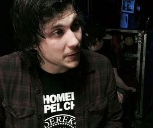 frank iero, my chemical romance, and band image