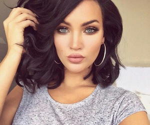 hair, eyes, and pretty image