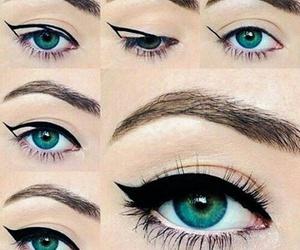beautifull, eye, and eyeliner image