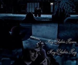christmas, cementerio, and hemione granger image