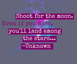 easel, moon, and quote image