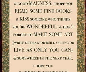 new year, life, and Neil Gaiman image