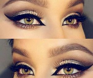 eyes, beautiful, and eyeliner image