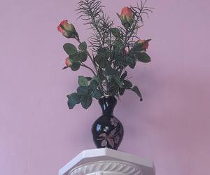 decor, flower, and pink image