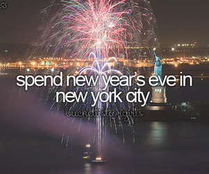new year, new york, and new years eve image