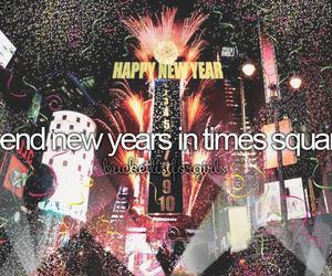 new year, new york, and ny image