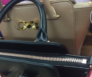 bags, black, and brown image